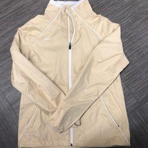 Nike zip up wind breaker